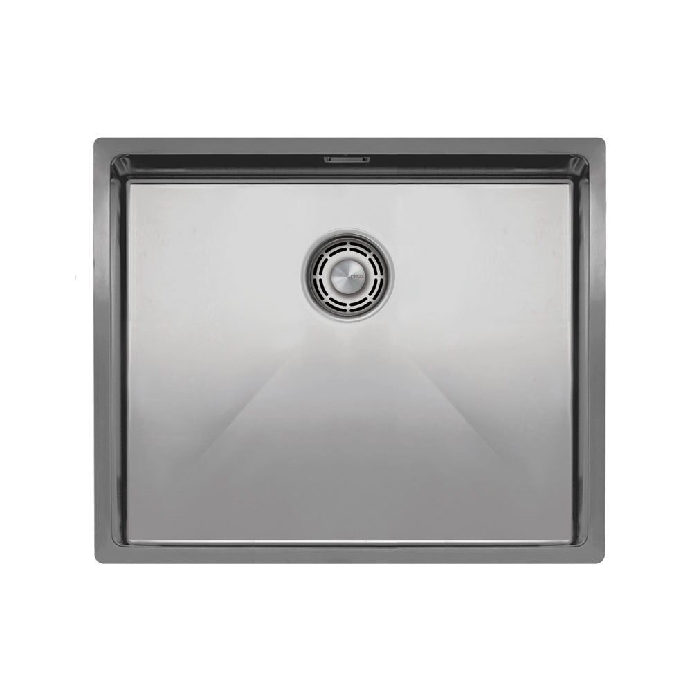 Ανοξείδωτος Χάλυβας Κουζίνα Λεκάνη - Nivito CU-500-B Brushed Steel Strainer ∕ Waste Kit Color
