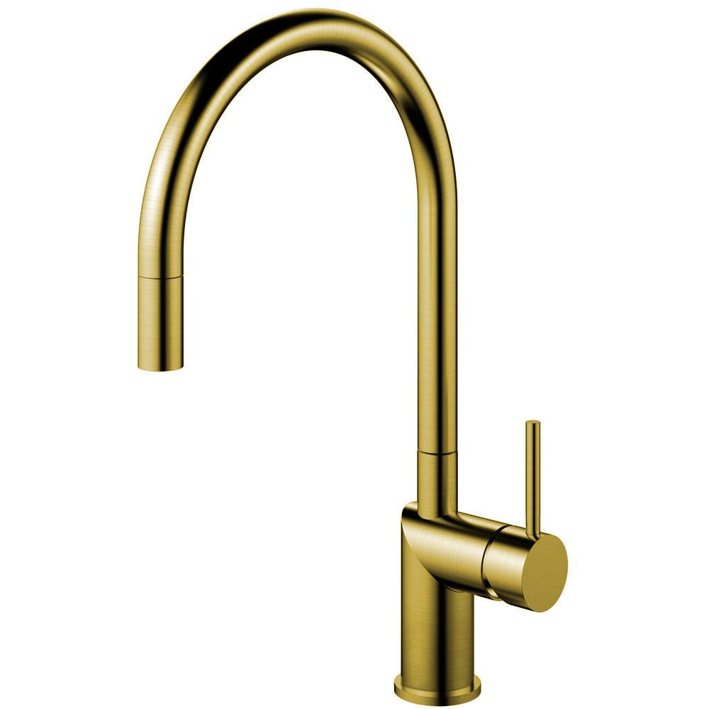 Ορείχαλκος/Χρυσός Κουζίνα Βρύση Πτυσσόμενος σωλήνας - Nivito RH-140-EX