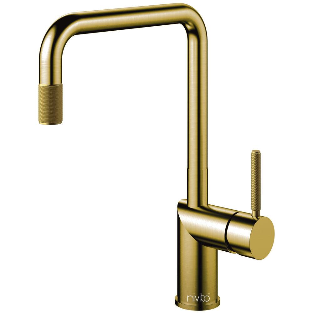 Ορείχαλκος/Χρυσός Κουζίνα Βρύση - Nivito RH-340-IN