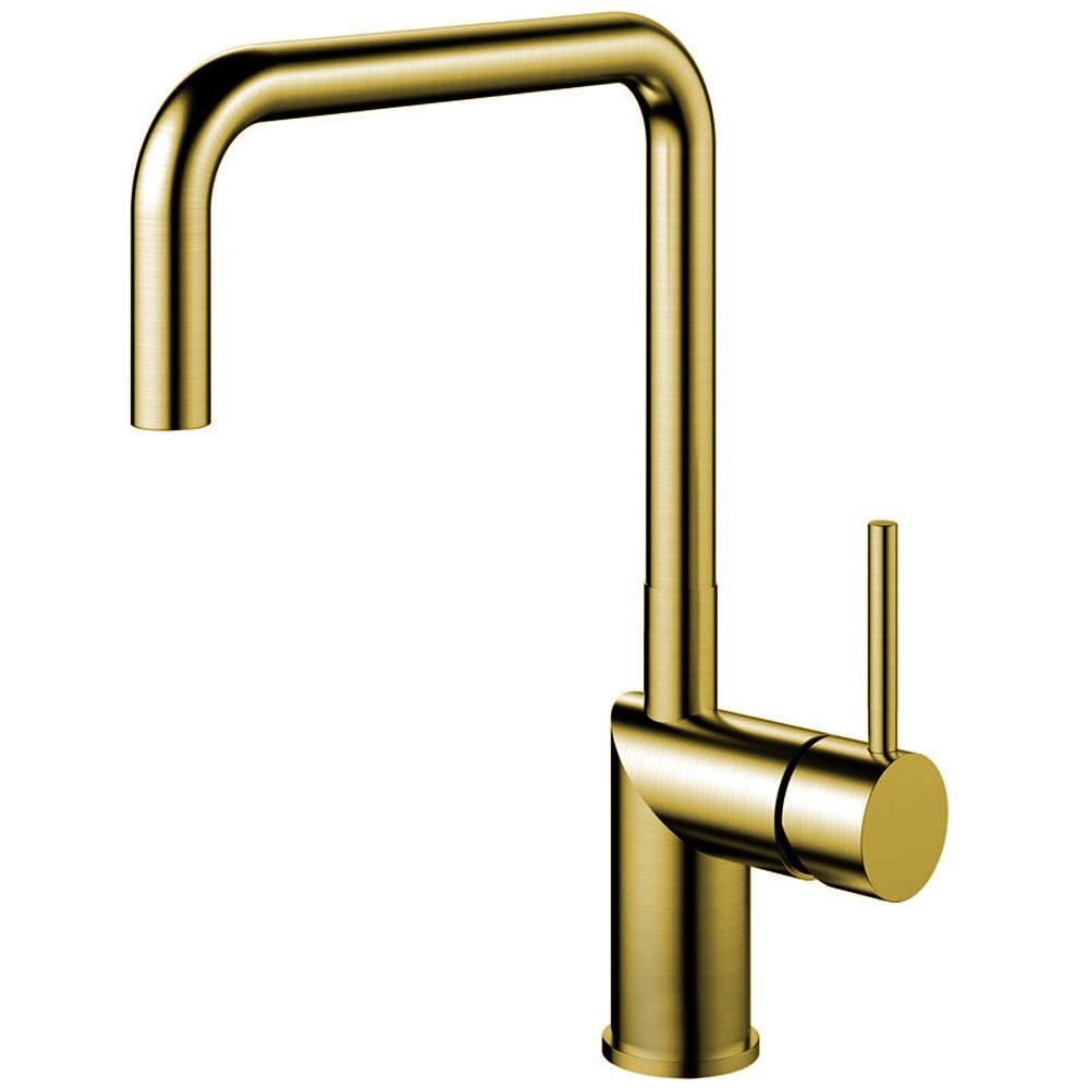 Ορείχαλκος/Χρυσός Κουζίνα Νεροχύτη Μπαταρία - Nivito RH-340