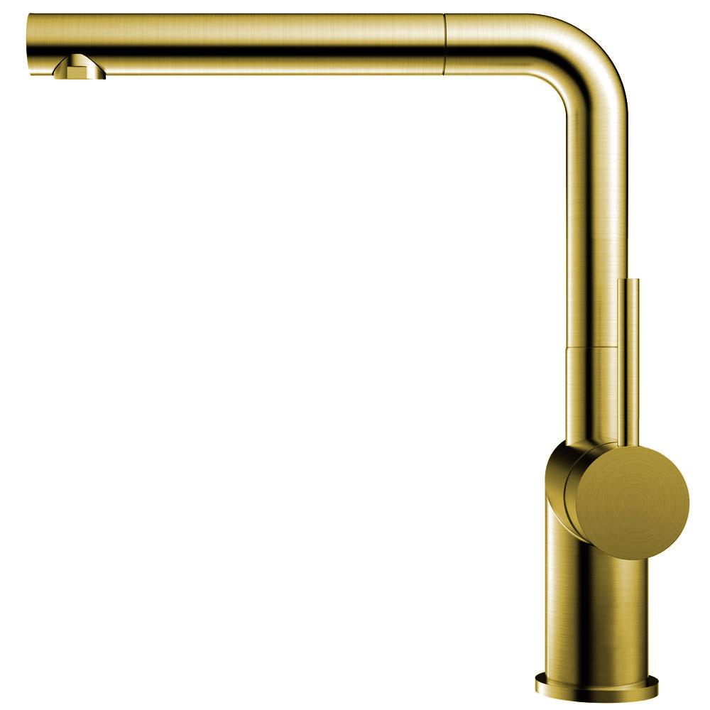 Ορείχαλκος/Χρυσός Κουζίνα Βρύση Πτυσσόμενος σωλήνας - Nivito RH-640-EX