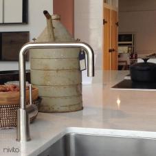 Ανοξείδωτος Χάλυβας Κουζίνα Μπαταρία - Nivito 3-RH-300