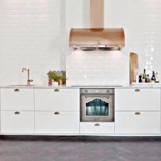 Χαλκός Κουζίνα Μπαταρία - Nivito 4-CL-170