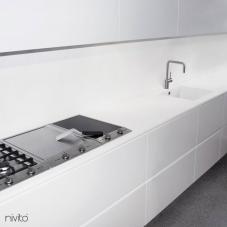 Ανοξείδωτος Χάλυβας Κουζίνα Μπαταρία - Nivito 5-RH-300