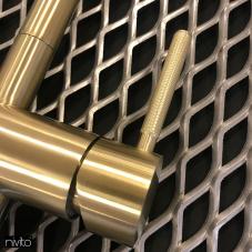 Ορείχαλκος/Χρυσός Κουζίνα Μπαταρία - Nivito 2-RH-340-IN