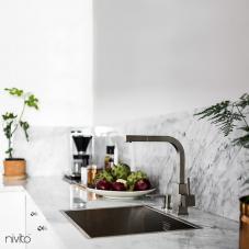 Ανοξείδωτος Χάλυβας Κουζίνα Μπαταρία - Nivito 1-SP-300