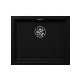 Μαύρο Κουζίνα Λεκάνη - Nivito CU-500-GR-BL