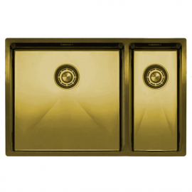 Ορείχαλκος/Χρυσός Κουζίνα Νεροχύτη - Nivito CU-500-180-BB