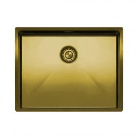 Ορείχαλκος/Χρυσός Κουζίνα Νεροχύτη - Nivito CU-550-BB