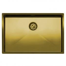 Ορείχαλκος/Χρυσός Κουζίνα Νεροχύτη - Nivito CU-700-BB