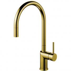 Ορείχαλκος/Χρυσός Κουζίνα Μπαταρία Πτυσσόμενος σωλήνας - Nivito RH-140-EX