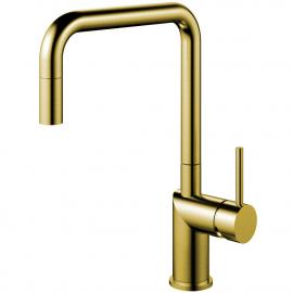 Ορείχαλκος/Χρυσός Κουζίνα Μπαταρία Πτυσσόμενος σωλήνας - Nivito RH-340-EX