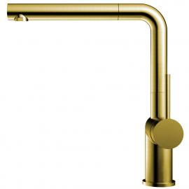 Ορείχαλκος/Χρυσός Κουζίνα Μπαταρία Πτυσσόμενος σωλήνας - Nivito RH-640-EX